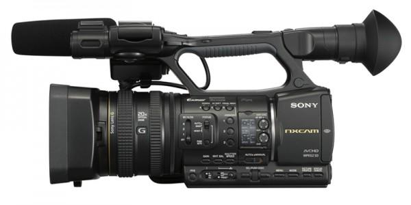 Camcorders SONY NXCAM HXR NX5E. El primer camcorder AVCHD profesional de Sony redefine el rendimiento y las características típicas de una captación basada en archivos.