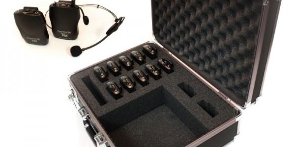 VISITAS GUIADAS Sistemas de sonido portatil ideal para visitas a museos y plantas industriales. Posee 16 canales UHF lo que los hace muy confibles. Permite varios idiomas a la vez. Grupos de hasta 50 personas.